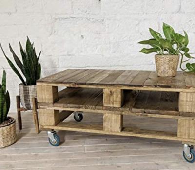 Mesa de palets de madera DYDAYA